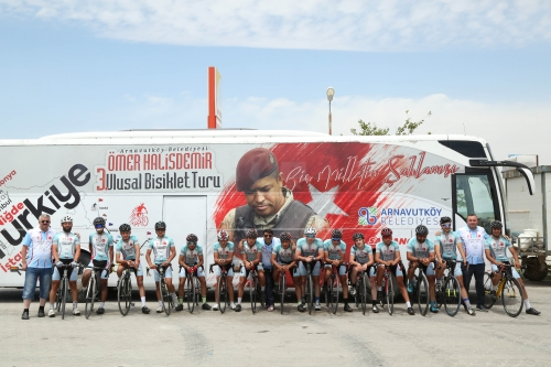 4.Ulusal Ömer Halisdemir Bisiklet Turu Başlıyor