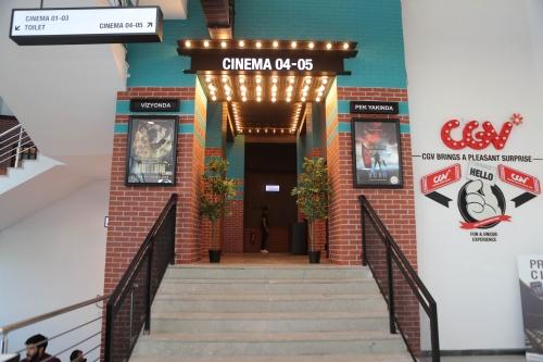 Avlu34 Sinema Salonu Açıldı