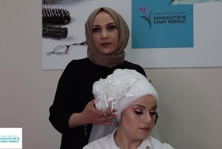 Kuaförlük Dersi - Gelin Başı Uygulaması
