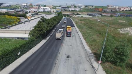 Hadımköy 75.Yıl Caddesi Asfaltlama Çalışmaları