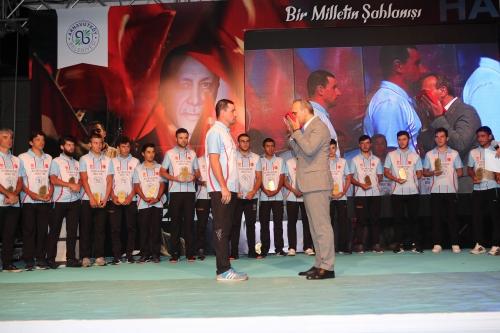 15 Temmuz Şehitleri ve Gazileri Arnavutköy'de Anıldı