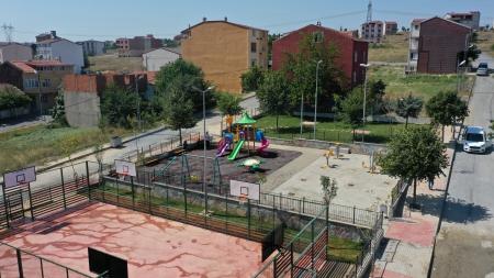Osmangazi Parkı Yenilendi
